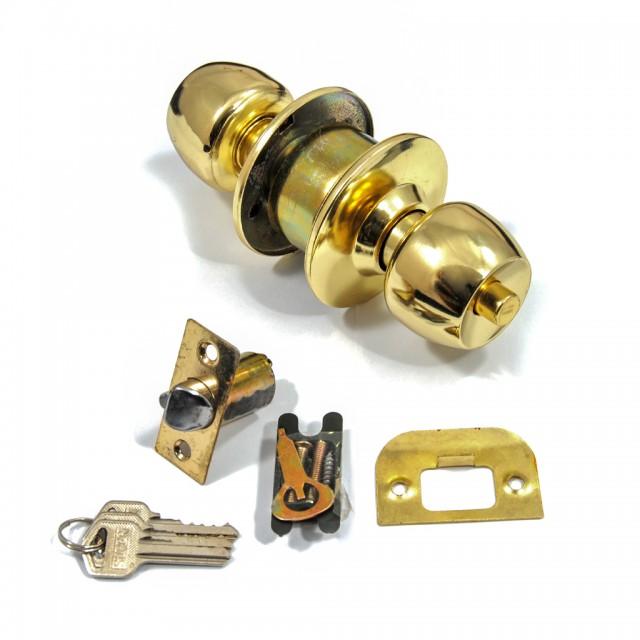 KNOB LOCK SET / GOLD